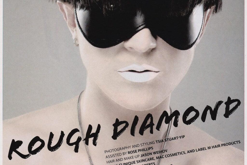 Editorial Makeup for Diva Magazine