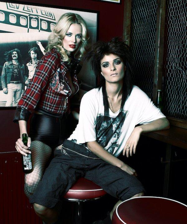 Editorial Makeup Manchester Rock Chicks
